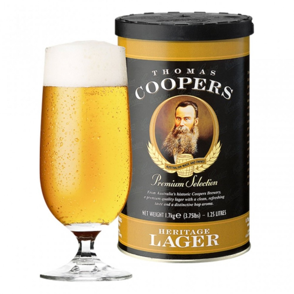 "Солодовый экстракт ""Coopers"" Selection Heritage Lager"