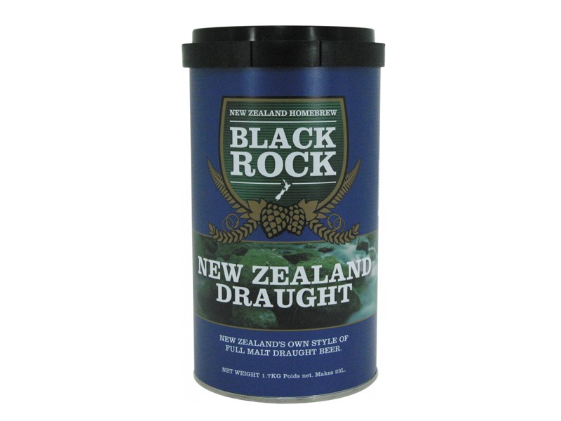 "Cолодовый экстракт ""Black Rock"" New Zeland Draught"