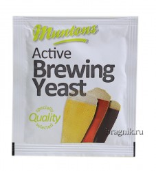 Пивные дрожжи Muntons Active Brewing Yeast (6 г)