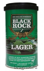 "Cолодовый экстракт ""Black Rock"" Lager"